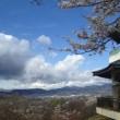 展望台と桜と富士山(天気…)
