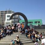 春のサザンビーチが大賑わい 湘南祭2014の記録