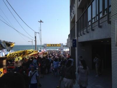 湘南祭のゲート