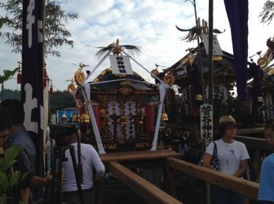 寒川神社の天保神輿