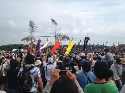 寒川神社神輿
