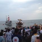 平塚三嶋神社『須賀のまつり』の浜降祭も見てきた!
