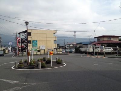 箱根乙女口正面 時之栖行きバス乗り場