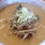 日の出製麺所に再訪 今度は味の味噌一直系の味噌ラーメンを食べる