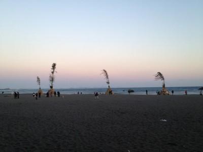 海岸にならぶセエトの数々