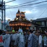 曾屋神社(秦野市)神幸祭の神輿巡行を見てきた