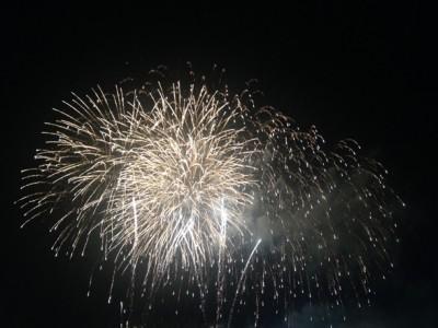 フィナーレの一番豪華な花火