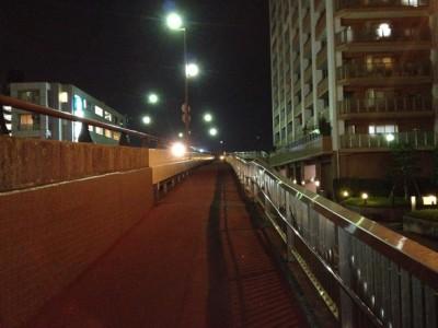 小田急・相鉄海老名駅からの跨道橋