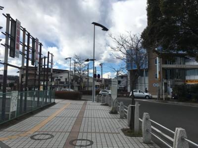 こっちは南口。ここから出るバスは白笹稲荷神社に行かない