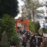 関東三大稲荷 白笹稲荷神社の初午祭に行ってきた
