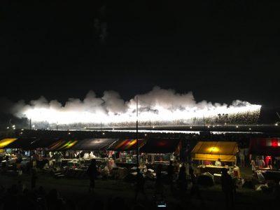 ナイアガラ花火。イグアスでは駄目なのか
