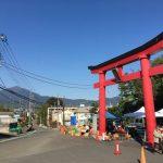 白笹稲荷骨董蚤の市 神社境内を利用して祝日毎に開催