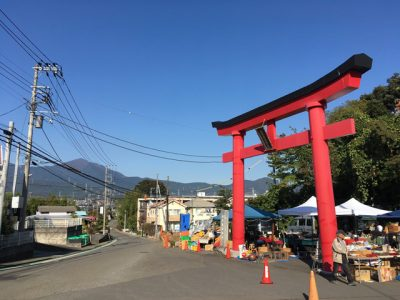 白笹稲荷神社大鳥居