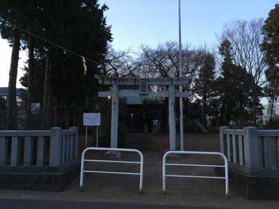 伊勢原市神戸の木下神社