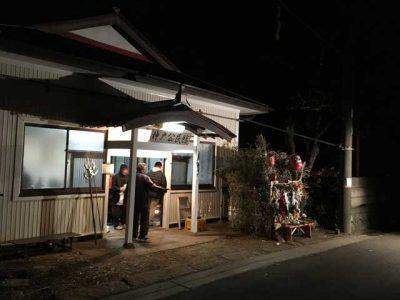 神戸の下地区の仮屋